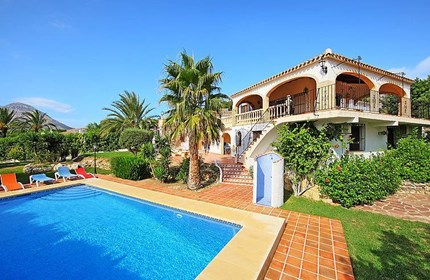 Private holiday homes in Spain